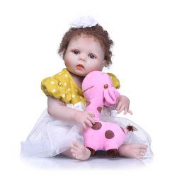 """Barato preço diretamente da fábrica venda 22"""" 55 Cm Fashion Princess renasce Silicone boneca bebê brinquedos para meninas"""