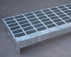 Gehweg-Entwässerung-Rinne-Edelstahl-Vergitterung-Deckel-/Fußboden-Abfluss-Deckplatte