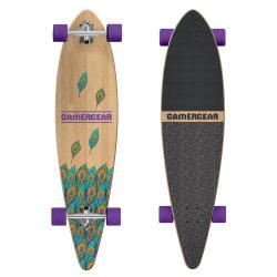 Soem-kanadisches Ahornholz 38 Zoll-Skateboard Longboard (LCB-138)