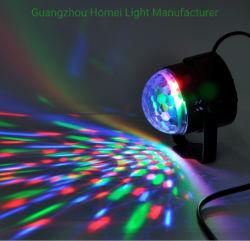 Tutti sul mini indicatore luminoso magico girante RGB variopinto 3 della sfera in 1 indicatore luminoso del partito della discoteca di effetto