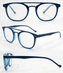 إطار بصري مخصص ذو إطار بصري على شكل نظارات مستديرة على شكل جسر مخصص بجودة عالية نظارات قراءة الإطار البصري للكمبيوتر الشخصي (WRP804010)