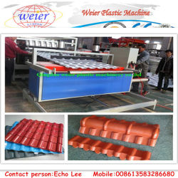 1050mm de PVC e ASA tecto linha de extrusão