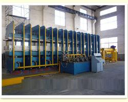 Macchinario della pressa dell'alto piatto di Quanlity/nastro trasportatore/pressa di vulcanizzazione di gomma di Hydrulic