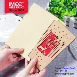 Imee Business Saudação de Natal a Personalização de Cartões