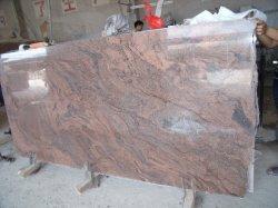 대중적인 정선한 Paradiso 빨간 화강암 석판 Polished 묘비 도와 묘석