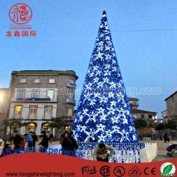 LED-im Freien wasserdichte Motiv-Dekoration-großes Weihnachtsbaum-Licht