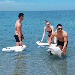 熱い販売の海のスクーターか電気浮遊基盤の携帯用電気 サーフボード
