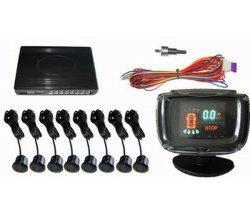 VFD 8대의 감지기 (PS3008)를 가진 높은 가벼운 주차 감지기 체계