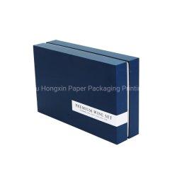 Бутылка шампанского подарочная упаковка с рифленым питателем бумажных упаковочных материалов