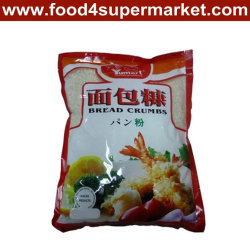 Panko Bread Crumbs WhiteおよびPlastic BagsのYellow Chicken/Meat/Seafood Recipe 500g