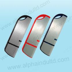 Aandrijving van de Flits USB van de Premie van de Douane van de kromme de Plastic met Uw Embleem (alp-009U)