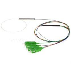 1X4 Sc 0.9mm de polimento APC Divisor de Fibra Óptica PLC