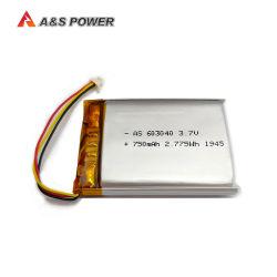 nachladbare Plastik-Batterie 3.7V des Lithium-603040 750mAh für Laptop-Tablette PC Batterie