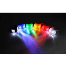 Lichte Voor en Achter installeert Gemakkelijk van de fiets de MiniPlastiek kikker-Gevormde Lichten van de Kikker van de Waarschuwing van de Veiligheid voor Fiets