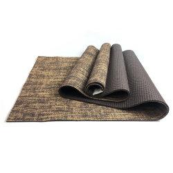 Eco Friendly Hot Jute de caoutchouc naturel de remise en forme de vente Tapis de Yoga Tapis de Yoga en PVC pour le Yoga