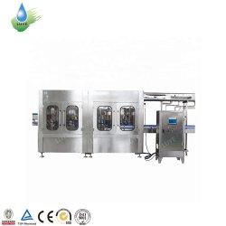 Caixa 3L 5L 7L 10L líquido mineral pura água potável engarrafamento máquina de embalagem PET/garrafa plástica de enchimento de lavar e nivelamento da máquina de Vedação