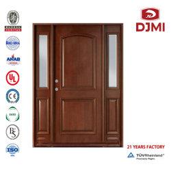 La nueva configuración de la hoja de doble Panel de Madera levantado de la puerta de fuego de madera Puertas de Interior Hotel