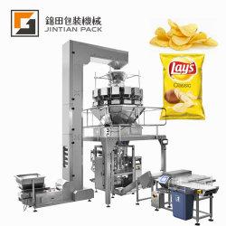 Korn-/Zuckersalz/Muttern/Chip-Chipsletten/Kaffee/getrocknete Früchte/Startwert- für Zufallsgeneratorgranulierte verpackenverpackungsmaschine