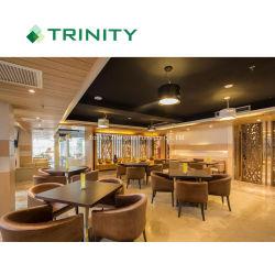 Nuevo diseño de 5 estrellas Hotel y restaurante con sillas de comedor Muebles de tela