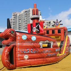 заводская цена высокое качество пиратской тема игровая площадка коммерческих открытый Большой надувной игровой площадкой для продажи