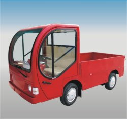 Electric Industrial Vehicle with Cab