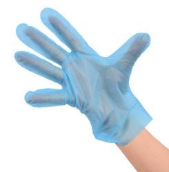 Синий одноразовые защитные одного промышленного использования пластмассовых TPE с другой стороны антивируса безопасность работы с ПВХ изоляцией из нитрила CPE резиновые перчатки