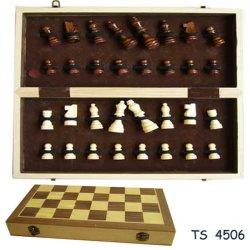 Juguetes de madera, madera, juegos de ajedrez de madera