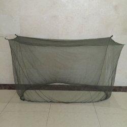 لون أخضر زيتوني بولي إستر سرير مزدوج Llin Anti-ملاريا معالجة شبكة الحشرات شبكة البعوض البسيطة الكبيرة جدا مع منظمة الصحة العالمية شهادة