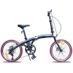 Super Light Mini Folding Bike 20 inch voor en achter Schijfremmen fiets Studentenfiets