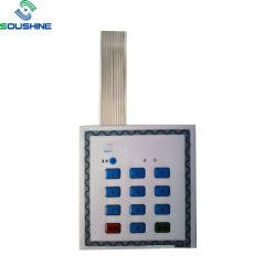 Valor numérico personalizado Plano a Cores da membrana do botão teclados de PC