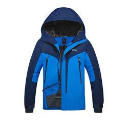 Gli uomini impermeabilizzano il cappotto antivento della neve del pattino di inverno della montagna del rivestimento dello Snowboard