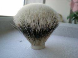Tête de brosse de rasage du blaireau (01)