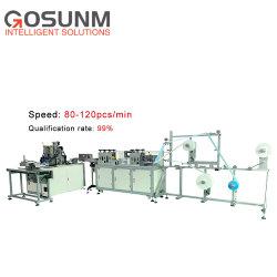 Masque médical Gosunm Face automatique Making Machine machine à souder à ultrasons à haute vitesse pour l'exportation populaire