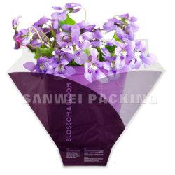 Los envases de plástico Ecomomic BOPP Flor envuelve sobre (F-19)