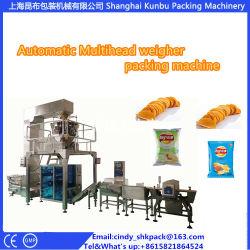 prix d'usine automatique machine de conditionnement des aliments de loisirs avec peseur Multihead