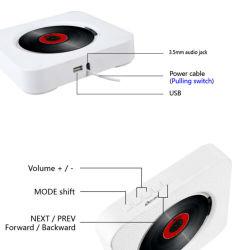 USB montabile di riproduttore di CD di Bluetooth della parete portatile