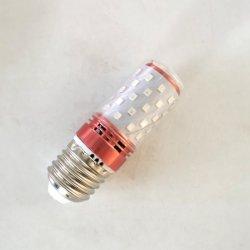 Lampada a candela al quarzo SMD2835 LED E27 E14 Lampada da 220 V, bianca calda, 12 W.