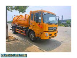 10 11 12M3 شفط مياه الصرف الصحي تنظيف مياه الصرف الصحي جديد شاحنة مستعملة سيارة خاصة للبيع