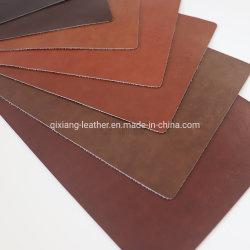 Fácil de limpiar el aceite encerado de grano de pieles de cuero artificial de PVC para Restaurante presidente