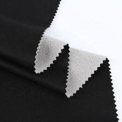 Una stirata stampata Softshell di 4 modi ha legato il tessuto polare del panno morbido del panno morbido laminato poliestere del tessuto del jacquard