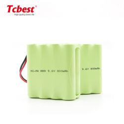 Le périphérique portable 9,6 V Batterie rechargeable Ni-MH HR03 AAA 800 mAh Pack batterie NiMH rechargeable NiMH AAA 2,4 V 400mAh batterie rechargeable
