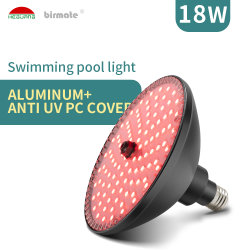 تيار متردد 100-240 فولت RGB E26 LED PAR56 استبدال مصباح الهواء حوض السباحة خفيف