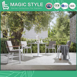 Outdoor Coffee Dining Set met Polywood Armrest Cafe Coffee Chair Tuin Koffietafel