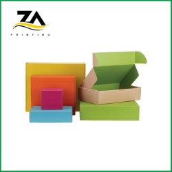 カスタマイズされた印刷された多彩な荷箱のペーパー波形ボックス