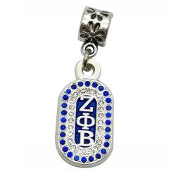 La joyería de alta calidad al por mayor encanto grabado el logotipo de marca de metal personalizados Tags colgante de encanto para la joyería (encanto-05)