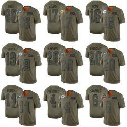 2019 салют для обслуживания Купер Wentz Мэйфилд Prescott футбола футболках NIKEID