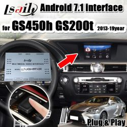 Plug&Play Android Interface GPS Navigator per Lexus GS200t GS350 GS450h 2013-2018 con Android 7.1/ RAM3g/ Six-Core