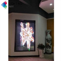 شاشة LED شفافة زجاجية شاشة عرض LED مرنة شاشة العرض LED P3.96 P7.81 لإعلاناتشاشة LED كبيرة داخلية خارجية