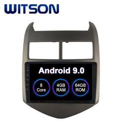 GPS van de Radio van de Auto van het Scherm van 9.0 Aanraking van Witson Androïde voor het Grote Scherm van de Flits van de RAM Aveo van Chevrolet 2010-2015 4GB 64GB in de Speler van de Auto DVD