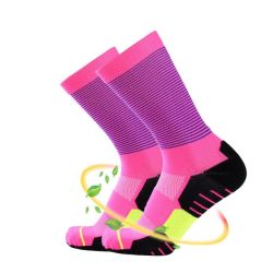 Kundenspezifische Karikatur-Unisexbaumwollnette Spitze-Baby-Knöchel-Mannschafts-Gefäß-laufende Ski-Socken-hohe Knie-Strumpf-Socken-neugeborenes Kind scherzt Mädchen-Jungen-Kind-weiche Fußboden-Baby-Socke